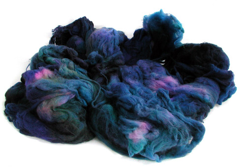 Dregs-dyed superwash fiber | by QueenieVonSugarpants