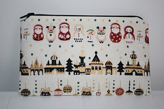 Russian Christmas Pouch | by rupertandkrista