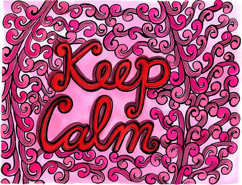 Keep Calm by Michelle Cavigliano | by My Zoetrope
