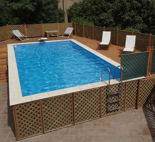 Dolcevita fuoriterra 1 1 piscina dolcevita fuori terra for Piscina fuori terra con soppalco