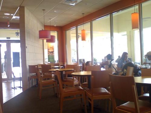 Panera Bread Boca Raton Interior Sent From My Helio Oce Flickr