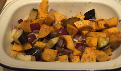 butternut squash and aubergines | by ramtops