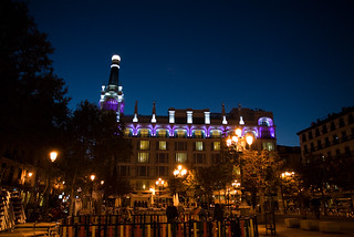Madrid plaza at night | by tex1763