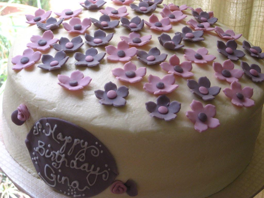 Birthday Gina 011 A Birthday Cake Order For A Girly Girl Flickr