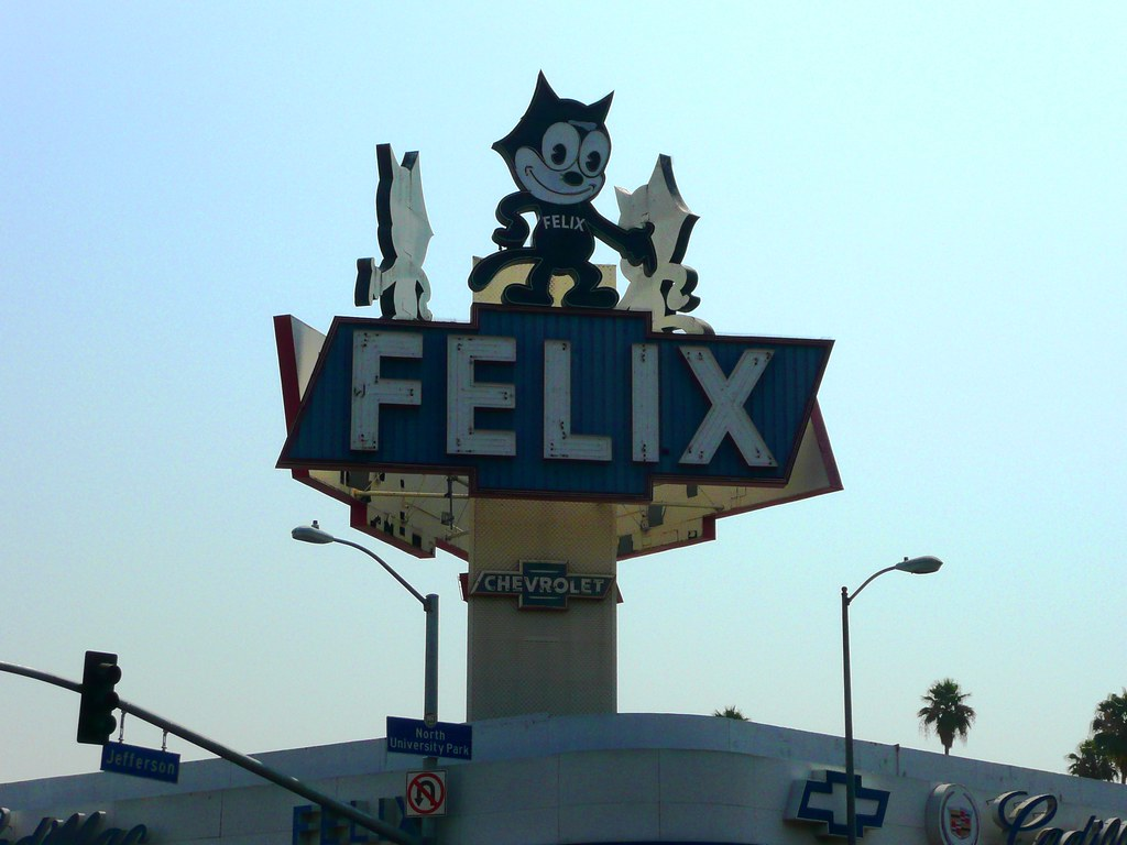 ... Los Angeles, CA Felix Chevrolet Sign | By Army.arch