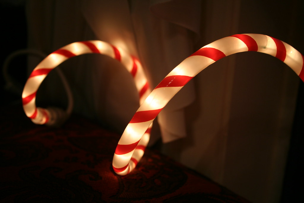 Candy cane rope light dillyfae flickr candy cane rope light by dillyfae aloadofball Image collections