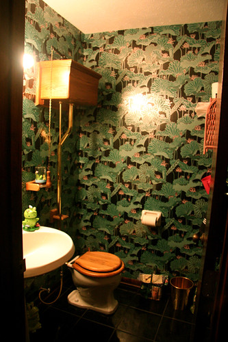 the old-fashioned bathroom | it just doesn't get better than… | flickr