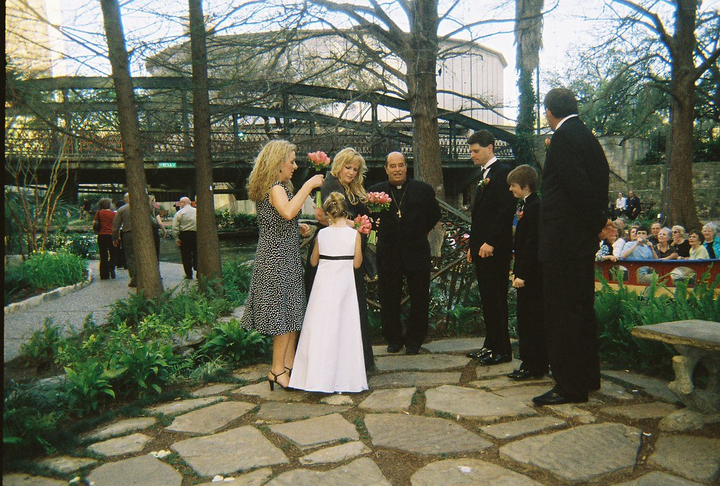 2008*San Antonio Riverwalk Marriage Island Wedding | Flickr