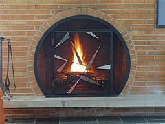 Circular Fireplace Circular Fireplace Screen with hinge Flickr