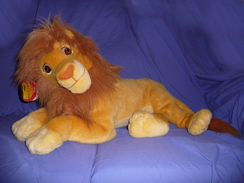Lion King Adult Simba Plush By Mattel Will Mitchell Flickr
