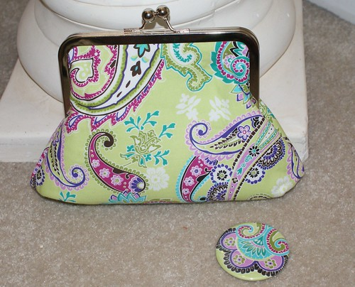 Snap purse and mirror | by islandgirlbags