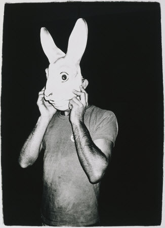 Man with Rabbit Mask.jpeg | by maya singer