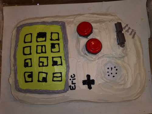 skiff's gameboy cake | by littlegreenfroggy