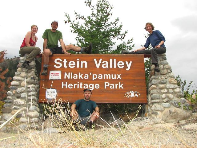 Stein Valley, 5 Sep 2008