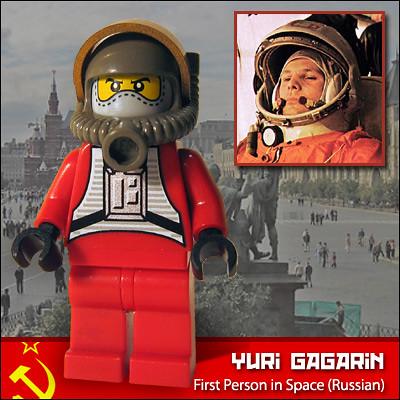 Yuri Gagarin | First Person in Space (Russia) | Morgan190 ...