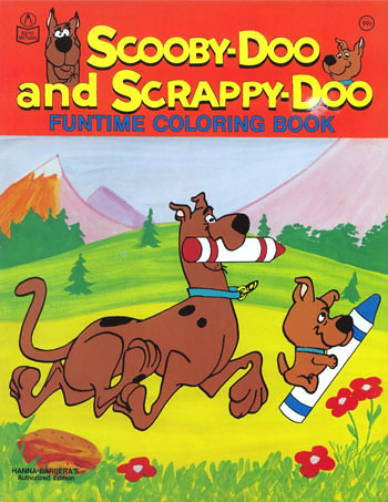 Scooby-Doo & Scrappy-Doo coloring book   It\'s coloring book …   Flickr