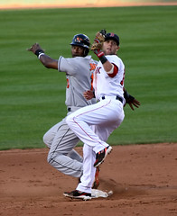 Jones vs. Pedroia, looking to the ump | by Boston Wolverine