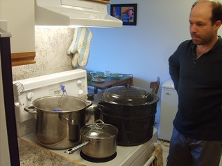 Salsa - Many pots, one cook, small stove | by urbanwild