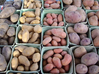 Potatoes from Red Brick Farms | by swampkitty