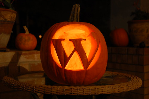 WordPress Pumpkin | by Eric M Martin