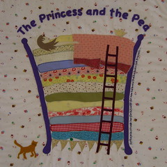 The Princess and the Pea Quilt | by www.rachaelrabbit.blogspot.com