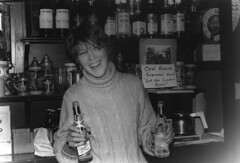Bartending at Larry's, 1986 | by terriem
