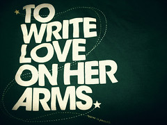 To Write Love On Her Arms | by light the sky