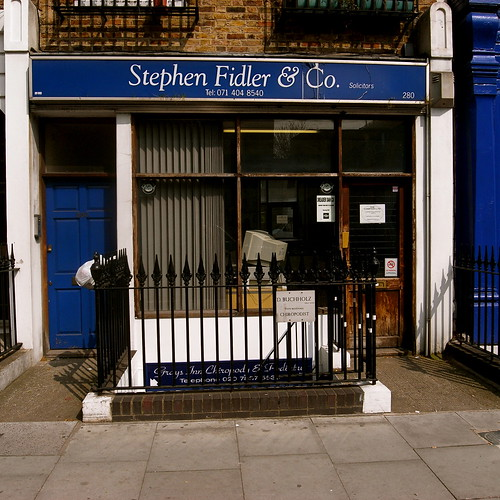 Stephen Fidler Grays Inn Road I Love This One