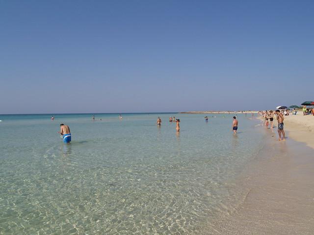 Lido Marini: la spiaggia