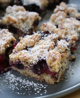 Blueberry Crumb Bar | by Nook & Pantry