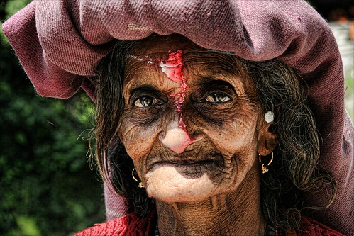 The Old Woman from Dehradun... | by cmac66