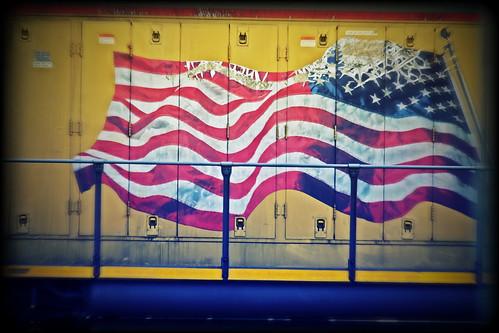 american flag graffiti - photo #13