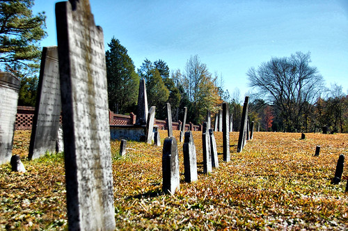 Old Headstones at Cedar Springs | by RandomConnections