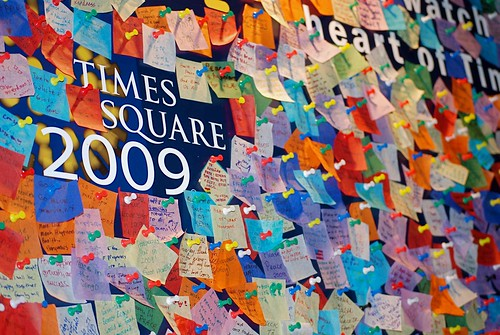 Times Square New Year's Eve Wishing Wall | by NYC♥NYC