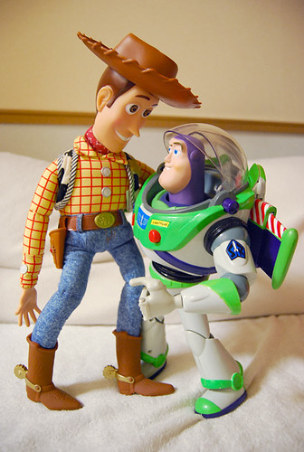 Toy Story Woody Buzz Yororo Flickr