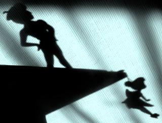 Pan f e clochette ombre peter pan f e clochette - Fee clochette ombre ...