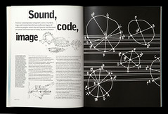 Soundcodeimage Eye26 pp.24-25 | by Eye magazine