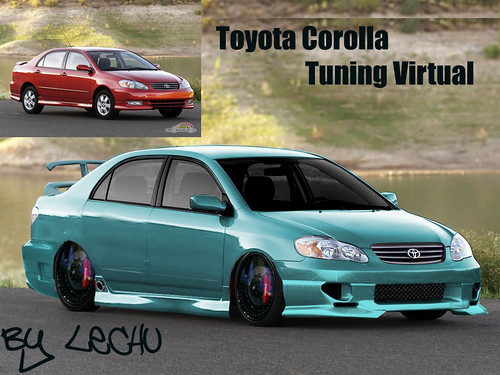 toyota corolla tuning virtual mariano quinteros flickr. Black Bedroom Furniture Sets. Home Design Ideas
