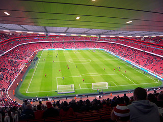 Arsenal-Stadion innendrinne | by gebsn