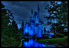 Disney World Magic Kingdom Castle - HDR | by Robert D Bruce