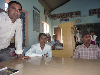 Speaker during interaction program at Ranapal School, Dangihat | by nepallibraryfoundation
