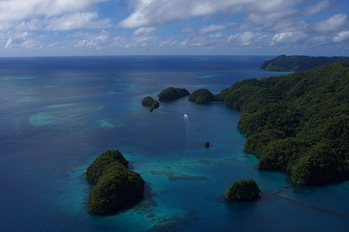 how to get to palau from perth