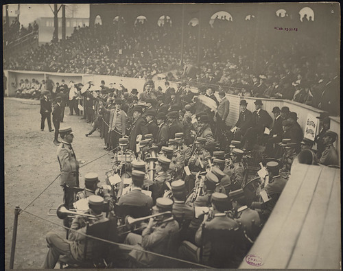 Boston Rooters singing Tessie, 1903 World Series | by Boston Public Library