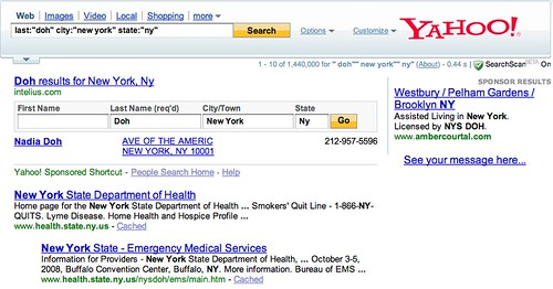 Yahoo People Search Now | by rustybrick