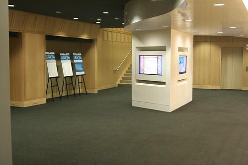 Foyer Area Jobs : Truman forum foyer exhibit area kansas city public