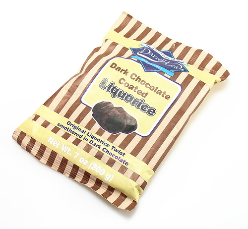 Darrell Lea Dark Chocolate Coated Liquorice | by cybele-