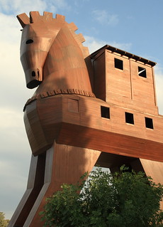 Replica of the Trojan Horse at Troy, Turkey | by Alaskan Dude