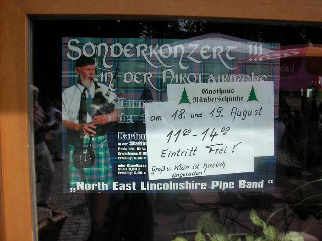 North East Lincolnshire Pipe Band | Echte Schotten zeigten e… | Flickr