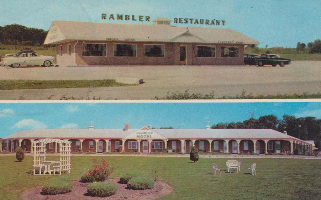 Rambler Motel & Restaurant -  Cameron, Missouri