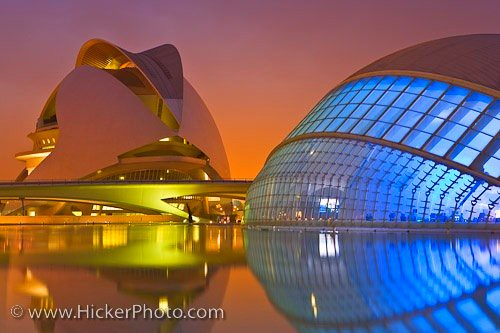 The City of the Arts and Science Valencia Spain | by Rolf Hicker Photography